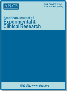 AMERICAN JOURNAL OF EXPERIMENTAL AND CLINICAL RESEARCH (AJECR)