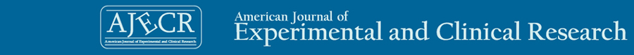 AJECR American Journal of Experimental and Clinical Research